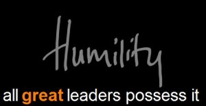 Humility - All Great Leaders Possess It  - Courtesy n2growth.com