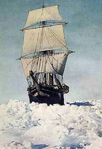 The Endurance Ship in Full Sail - Image Courtesy of Wikipedia