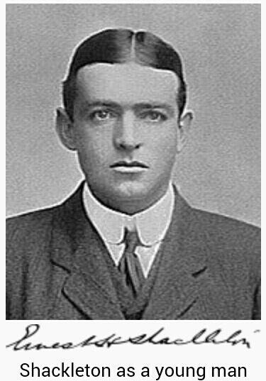 Ernest Shackleton - Image Courtesy of Wikipedia