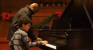 Dad And Joey Hunte playing Spain by Chick Corea