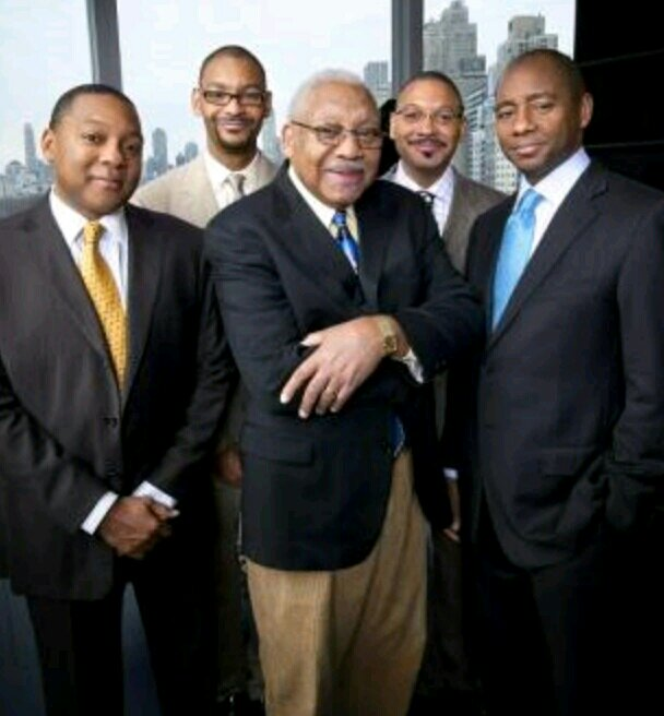 (L to R) The Marsalis Family - Wynton, Delfeayo, Ellis, Jason, & Branford