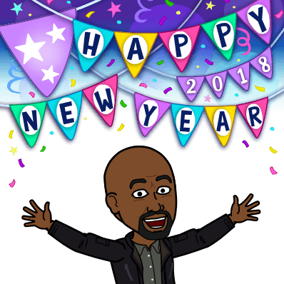 Happy New Year (Bitmoji)